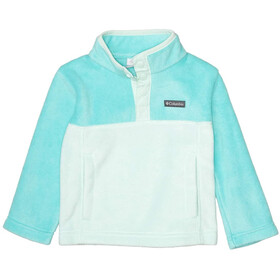 Columbia Steens Mountain 1/4 Snap Pullover In Pile Bambino, sea ice/dolphin